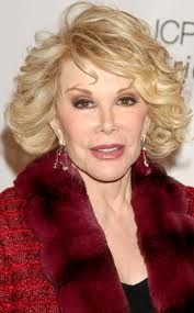 "Joan Rivers: ""Never be afraid to laugh at yourself, after all, you could be missing out on the joke of the century."""