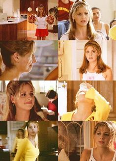 Buffy Summers and her cheerleading!