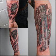 cool Top 100 Biomechanical Tattoos - http://4develop.com.ua/2016/01/30/top-100-biomechanical-tattoos/ Check more at http://4develop.com.ua/2016/01/30/top-100-biomechanical-tattoos/