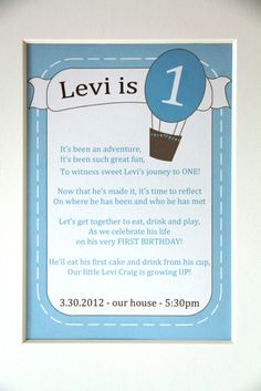 "Photo 6 of 38: whimsical adventure / Birthday ""Levi's Great Grow UP First Birthday"" 