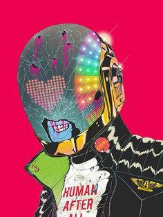 Daft Punk Deux @ Gauntlet Gallery, SF: Boneface -Guy-S.jpg