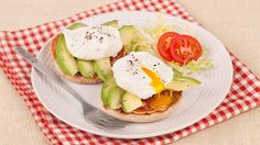 Egg and Avocado Muffins - Recipes - Best Recipes Ever - Sweet hot mustard adds flavour that complements the creamy avocado and salty pancetta. These muffins are great for any morning meal and even for a breakfast for-dinner.