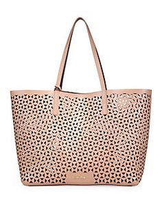 Elizabeth and James - Perforated Leather Tote Leather Saddle Bags 47f20a3a1716e