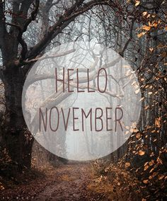 Attrayant Hello November! Www.blissfullyours.com