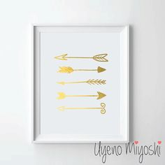 Hey, I found this really awesome Etsy listing at https://www.etsy.com/listing/212410107/arrow-gold-foil-print-gold-print-custom