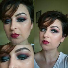 Sleek v2 palette Eyeshadows  used: Orbit, Maple, Flesh and Nyx Jumbo Pencil in shade Milk