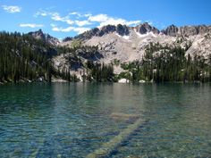 These 9 Hiking Trails In Idaho Are Completely Out Of This World -- Sawtooth and Alpine Lakes, Stanley