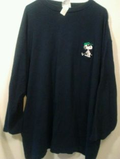 Vintage Snoopy Peanuts Cartoon Golf T Shirt Schulz 3/4 Sleeve Sport Club Ball #Peanuts #GraphicTee