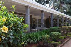 Karen Blixen Museum in Kenya: Lush garden, planted by Karen Blixen