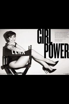 Lena Dunham V magazine