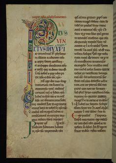 Illuminated Manuscript The Rochester Bible Walters Art Museum Ms. W.18 fol.220v by Walters Art Museum Illuminated Manuscripts