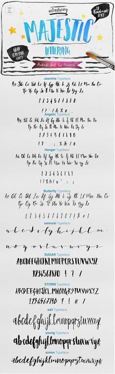 Majestic Lettering by Efe Gürsoy on Creative Market