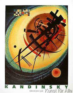 Wassily Kandinsky - Helles Oval