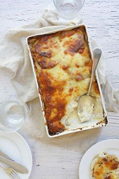 """#RecipeoftheDay: Easy Potato and Chicken Bake by Samm - """"Everyone enjoyed it and asked for more. I followed the recipe exactly and it was delicious and creamy. Will have to make it again and again."""" - Jazzy Joanne"""
