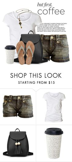 """""""COFFEE"""" by wendyfer on Polyvore featuring AllSaints and M&Co"""