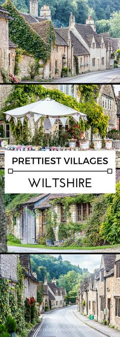 The 3 prettiest villages in Wiltshire, including Castle Combe, Lacock, and Avebury. #wiltshire #castlecombe #lacock #avebury #uk #england #travel
