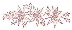 More Vintage Christmas Embroidery Transfers – Q is for Quilter Brush Embroidery, Embroidery Transfers, Silk Ribbon Embroidery, Vintage Embroidery, Cross Stitch Embroidery, Hand Embroidery Patterns Free, Christmas Embroidery Patterns, Christmas Patterns, Quilt Block Patterns