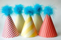 Dr. Suess party hats