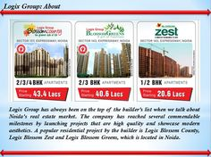 Logix Blossom series's County, Greens and Zest are known for their premium grandeur. These are the three newest projects by Logix Group. For more information about floor plan, site plan, location plan, price list as well as other details call us at 9266629901 or visit - https://ipropertyowner.wordpress.com/2017/09/23/logix-groups-blossom-series-county-greens-and-zest/