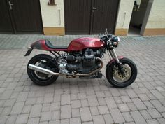 Moto Guzzi centauro cafe racer als Motorrad in Rabenau
