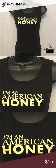 0d5cf26f125340 American Honey Tight Fit Racer Back Tank Top Sz M American Honey Tight Fit  Racer Back