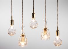 Crystal Bulb by Lee Broom