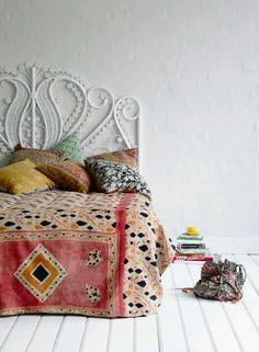 Bohemian Decor Bedroom.
