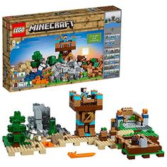 LEGO Minecraft Creative Adventures 21135 The Crafting Box LEGO Minecraft Construction Toys Lego Minecraft, Minecraft Video Games, Minecraft Crafts, Mojang Minecraft, Minecraft Stuff, Minecraft Skins, Minecraft Buildings, Legos, Pokemon