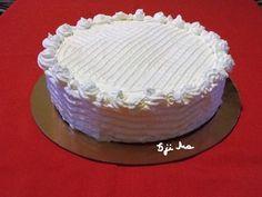 Rengeteg háztartási keksz volt itthon, amit fel kellett használni, gondoltam keksztortát készítek belőle és finom lett! - Ketkes.com Birthday Cake, Food, Birthday Cakes, Essen, Meals, Yemek, Cake Birthday, Eten
