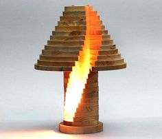 DIY Shape-Shifting Lamp That You Can Flip, Swirl And Arrange However You Want