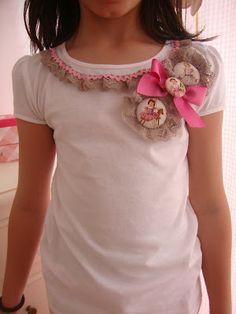 Soñando Entre Costuras: junio 2012 Bridal Dresses, Girls Dresses, Diy Vetement, Diy Clothing, Sewing For Kids, Christmas Shirts, Refashion, Dressmaking, Baby Dress