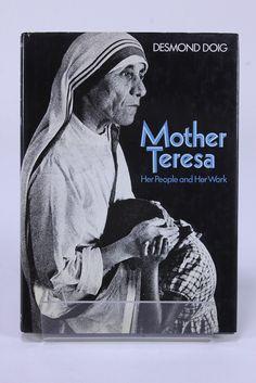 Mother Teresa Her People & Her Work Book HC/DJ 1st US Ed 1976 Desmond Doig