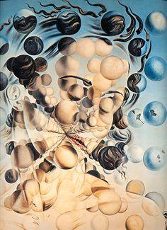 1952 Salvador Dali 'Galatea of the Spheres'. Salvador Dali Museum, Salvador Dali Paintings, Sistine Madonna, Artwork For Home, Teaching Art, Book Art, Design Art, Abstract, Drawings