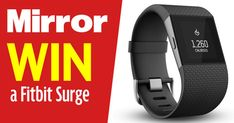 Here is your chance to get your hands on your very own Fitbit Surge, just ideal for monitoring your fitness levels.
