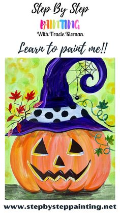 Easy Painting Projects, Canvas Painting Tutorials, Acrylic Painting Lessons, Painting Techniques, Diy Painting, Painting & Drawing, Painting Classes, Fall Canvas Painting, Autumn Painting