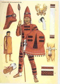 Aztec Quetzalcoatl warrior.