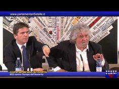 ESCLUSIVO: Grillo contro l'Europa dell'austerity - video integrale
