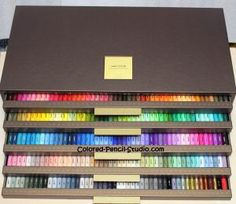 AMAZING! 150 Holbein Colored Pencils