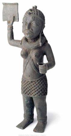 Female Figure Benin, Nigeria about 1500 44 cm