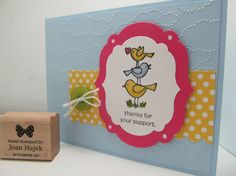 For the Birds - Stampin' Connection