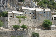 The Blaca Hermitage, Brač island, Croatia. The hermitage was originally established in 1551 by two Glagolitic monks, and continued by successive generations of monks until 1963 #brac_island #croatia