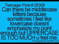 Teenager post <3