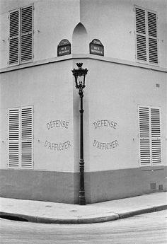 André Kertész, Faubourg Saint-Germain, 1936