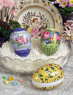 Victorian Easter eggs