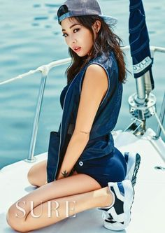 Jessi flaunts her hot bod in stylish summer wear for 'Sure' | allkpop.com