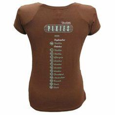 Pixies - Ladies Doolittle Tour T-Shirt (Chestnut) Medium: Amazon.co.uk: Clothing