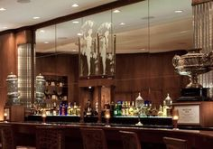The Sazerac Bar | Roosevelt Hotel -- home of the original sazerac -- suggested by Anthony Bourdain on The Layover