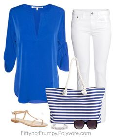 """""""Weekend!"""" by fiftynotfrumpy ❤ liked on Polyvore featuring H&M, Scoop, Merona, KG Kurt Geiger and Henri Bendel"""