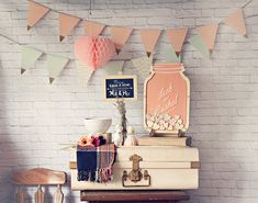 Wedding Guest Book Alternative  Mason Jar of by StrangelyYours