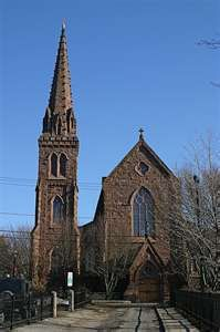 St. Mary's Church, Newport, Rhode Island, JFK and Jacqueline got married in this church.